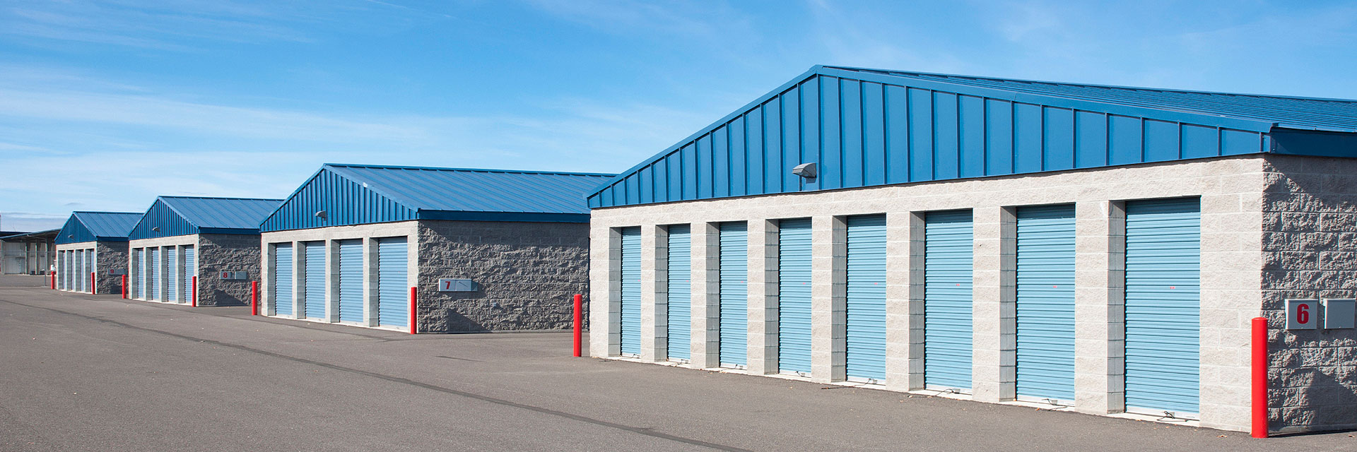 Only national network of brokers who specialize in self-storage properties.